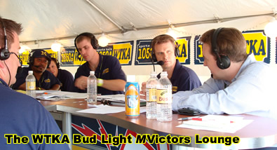 The WTKA Bud Light mVictors Lounge!