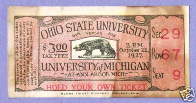 1927 Michigan Ohio State