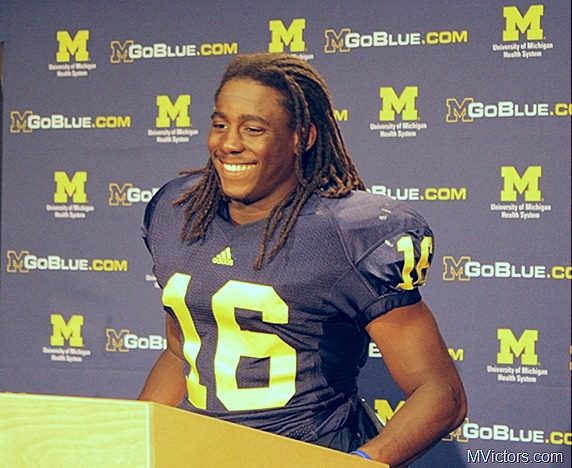 denard robinson sept 4 press conference