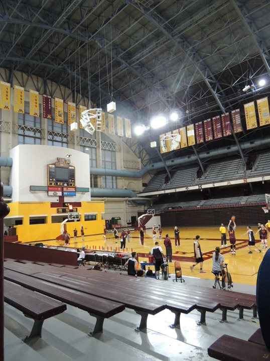 Inside Williams Arena - Minnesota