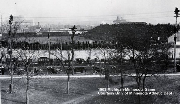 1903 Minnesota Michigan Game