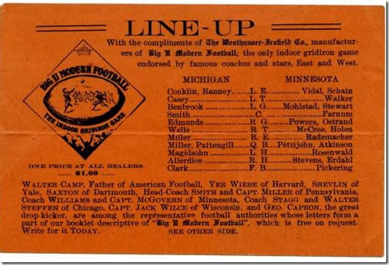 1909_michigan_minnesota_lineup_card