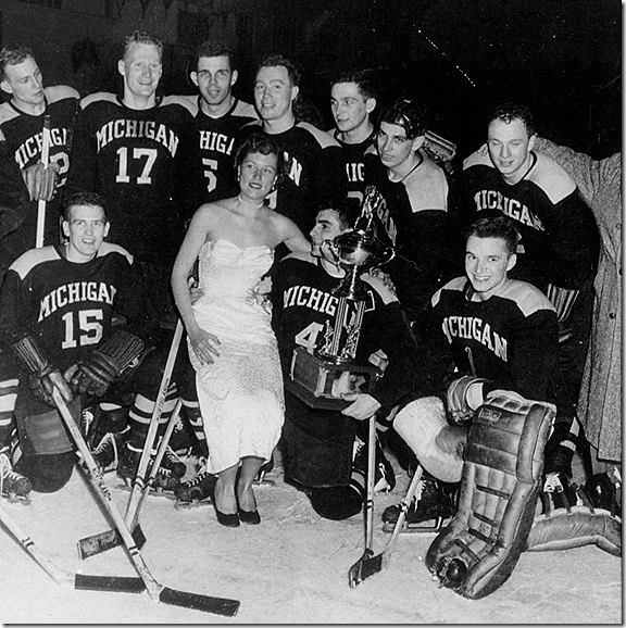 1953 NCAA hockey champs