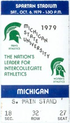 1979 Michigan State Game