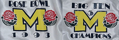 1993 Rose Bowl shoulders