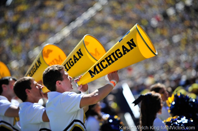 Michigan Cheerleaders