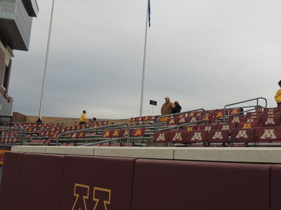 End Zone seating - TCF Bank Stadium