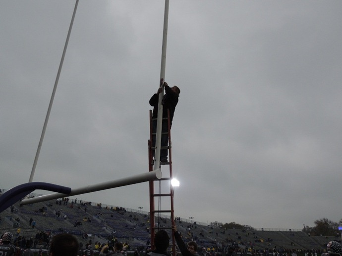 Fixing the goal post