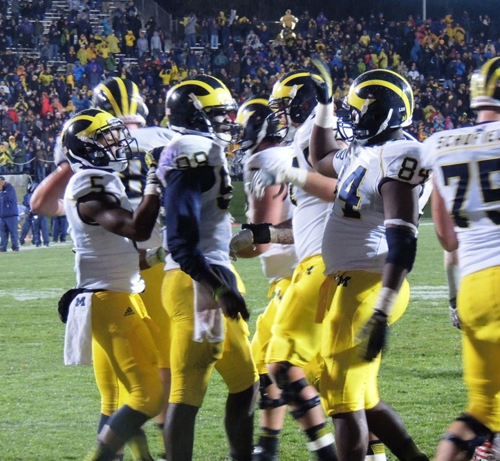 Devin Gardner scores the Game Winning TD - Overtime Northwestern