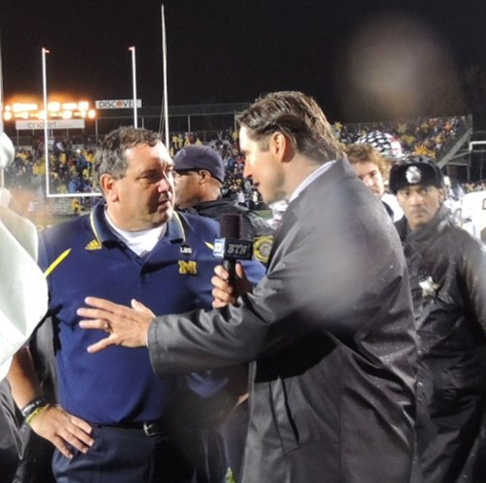 J Lehman chats with Brady Hoke