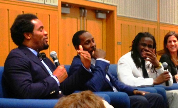 Dhani Jones, Desmond Howard, Denard Robinson