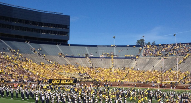 Empty Michigan Student Section