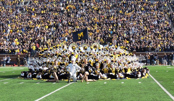 Michigan Marching Band - The Cake 2012