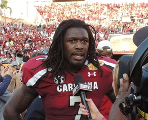Clowney Outback Bowl 2013