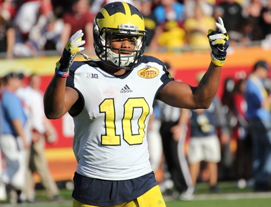 Jeremy Gallon | 2013 Outback Bowl