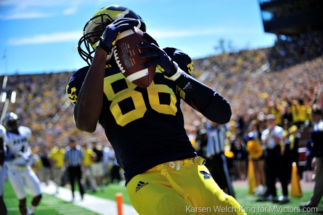 Jehu Chesson - First Touchdown