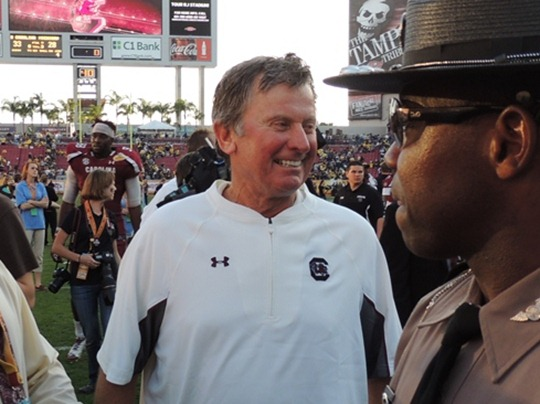 OBC Steve Spurrier Outback Bowl 2013
