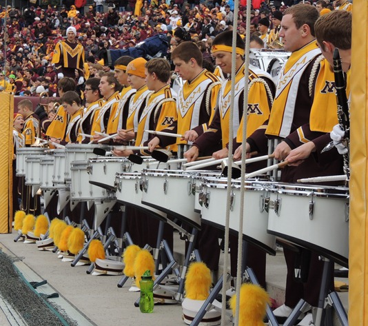 Minnesota Marching Band - Drumline