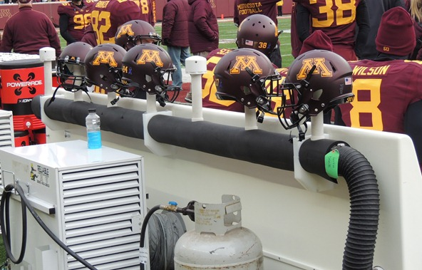 Minnesota helmet heaters/coolers/cozies