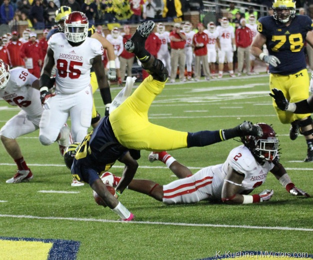 Devin Gardner Flips for Six