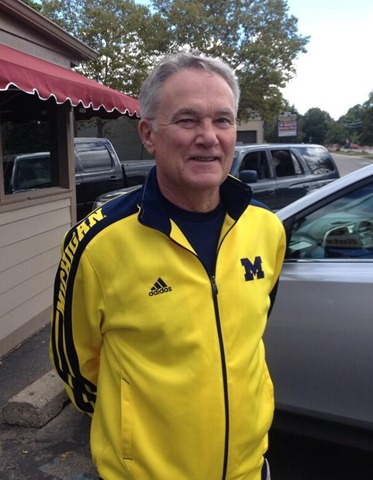 Bob MacLean Michigan Football Fan Streak