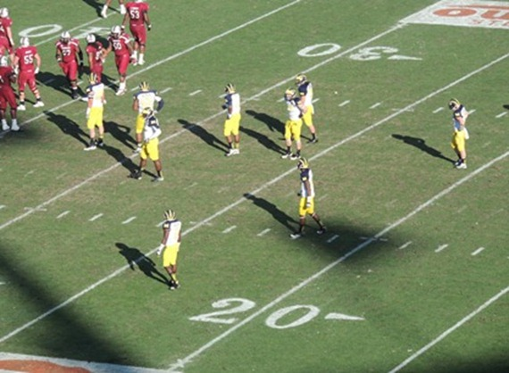 Can not see michigan uniforms