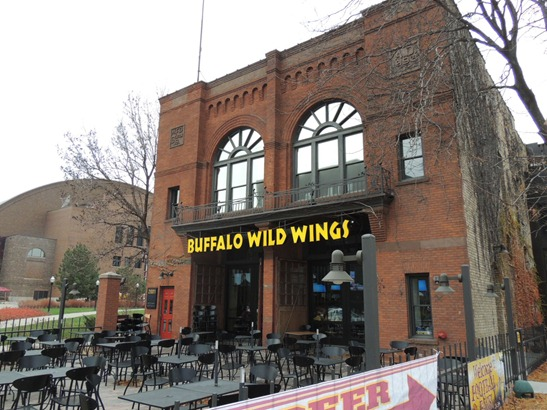 Buffalo Wild Wings - outside TCF Bank Stadium - Minnesota