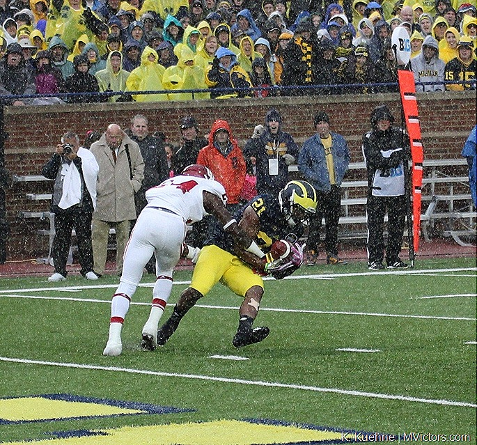 Jeremy Gallon - Indiana vs Michigan 10-19-2013