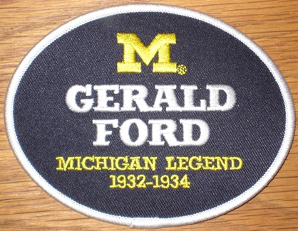 Gerald Ford #48 - Michigan Football Legends Patch
