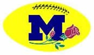 Michigan Rose Decal