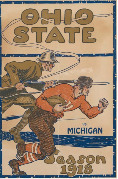 OSU Michigan 1918