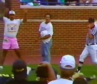 Pink Shorts Guy - 1991 The Catch