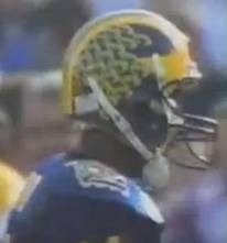 Desmond Howard helmet