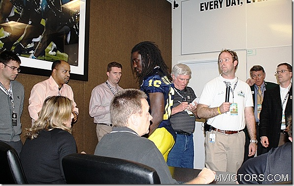 denard leaving