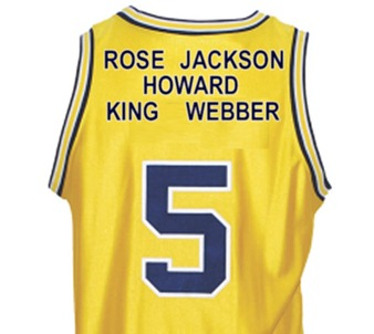 fab five jersey