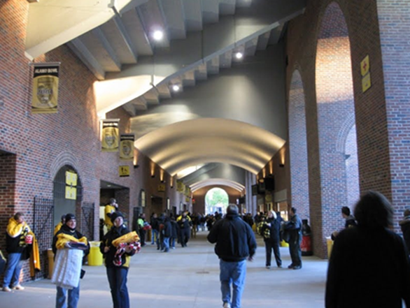 Michigan Stadium Concourse