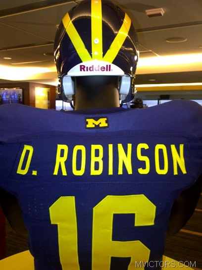 2011 Michigan jersey
