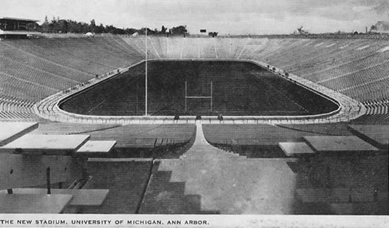 michigan stadium 1927