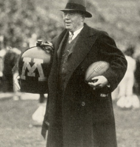 1933 Willie Heston with the Little Brown Jug