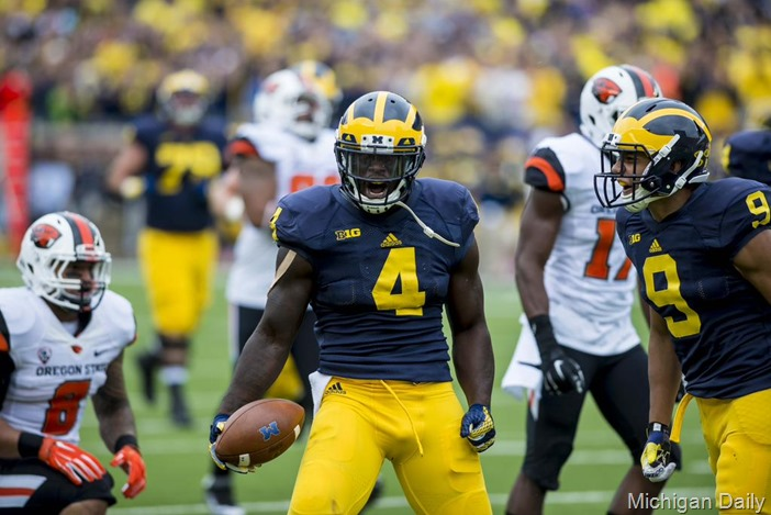 De'Veon Smith - Michigan Daily