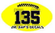 Dr. Sap's Decals