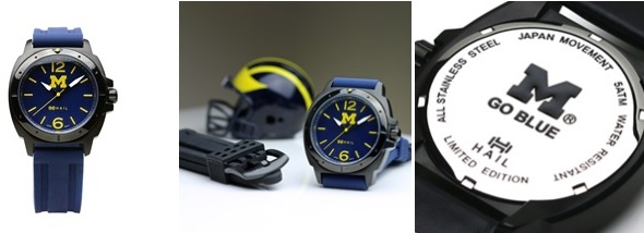 Go Blue MaraWatch Hail Black Blue