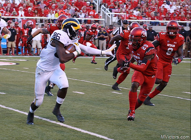 Jehn Chesson stiff arm