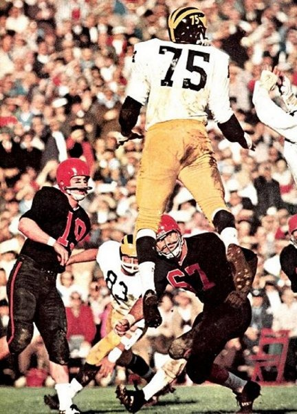 Bill Yearby - 1965 Rose Bowl