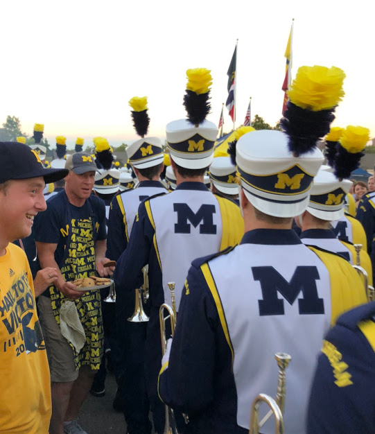 Michigan Marching Band wants a cookie
