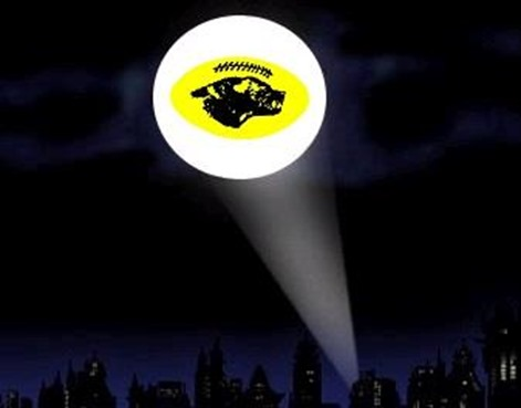 decal bat signal